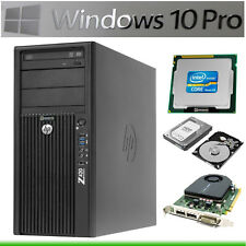 Hp Z420 Workstation E5-2620 ❻ -core Ram 32gb HDD 500gb Quadro 2000 Win10 Z4 Z6