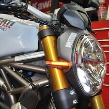 Ducati Monster 696 Front Turn Signals - New Rage Cycles