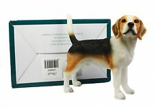 Dog Studies Resin Beagle Decorative Home Fireplace Figurine Ornament NEW