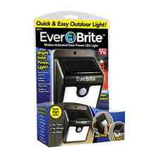 New Everbrite Solar Porch Lights Outdoor Motion Activated LED As seen on TV