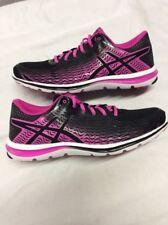 Asics Women's Athletic Shoes GEL- SUPER J33 2, Black/ Pink, Size 11.5 ,EUR 44