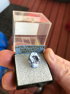 Molybdenite crystal, Moly hill mine,Malarctic, La Motte, Quebec