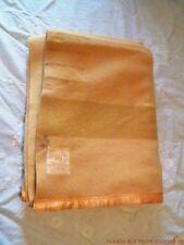 Vtg Hudson's Bay 4 Point  Wool Blanket Hudson ~90x67 ~ Gold ~AS IS CUTTER Crafts