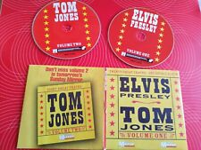 ELVIS PRESLEY TOM JONES RARE THE VOICE WHAT'S NEW PUSSYCAT DELILAH SHE'S A LADY