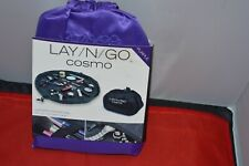 "Lay N Go Cosmo 20"" Purple Cosmetic Bag"