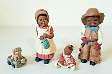 Vintage 3 Martha Holcombe Eli #128, Bonnie & Buttons #53 & 1994 Doll Figures