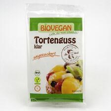 (8,33/100g) Biovegan Tortenguss klar ungezuckert bio vegan 2x6 g
