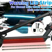 LED Strip Flashlight Lamp For Xiaomi M365 Electric Scooter Skateboard Safety
