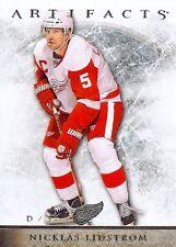 12-13 UD Artifacts Nicklas Lidstrom All Star #68-Detroit Red Wings
