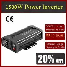 Solar Power Inverter 3000W 12V DC To 110V AC Modified Sine Wave Converter P8