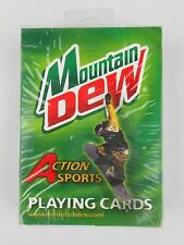 Mountain Dew Action Sports Playing Cards NEW NIP Glifberg Hinkley Cooke Channita