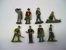 Lot of 8 Erie Cast Metal Figures [Lot T11-A2]