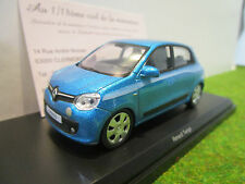 RENAULT TWINGO de 2014 bleu au 1/43 NOREV 517413 voiture miniature de collection