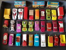 Matchbox Lesney 1:75 Konvolut 30 frühe Superfast - Modelle noch gut - sehr gut
