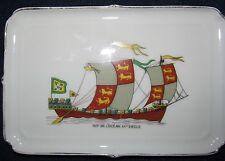 Porcelaine de Paris Limoges Dish - Nef De L'Ocean XII Siecle