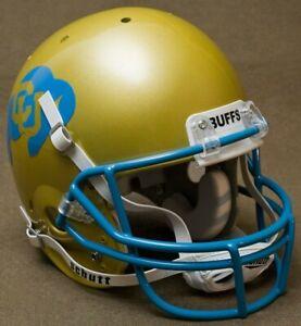 COLORADO BUFFALOES NCAA Schutt XP Full Size AUTHENTIC Gameday Football Helmet