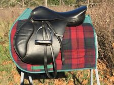 "Perfect Starter Package! 16.5"" M MW Black English Close Contact Saddle"