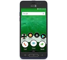"Doro 8035 Smartphone 5"" 16GB Android 7.1 Nougat Blue Unlocked Sim Free"