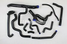 Renault R19 16S 12 hoses Silicon set COOLANT hose kit F7P valves BLACK