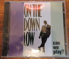 Rare NIP New OOP Can We Play 1995 1996 On The Down Low CD Hip-Hop G-Funk Soul