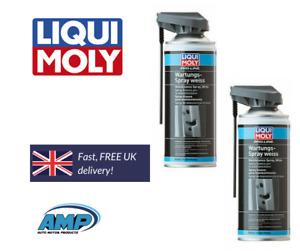 Liqui Moly Pro Line Maintenance Spray White 400ml White Grease 7387 x2