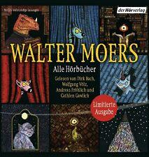 Walter Moers -Alle Hörbücher / Die große Walter-Moers-Box (17 mp3-CDs) NEU&OVP!!