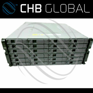 NetApp DS4246 Shelf 20TB 10x 2TB X306A-R5 2x IOM6 2x PSU Disk Array Expansion