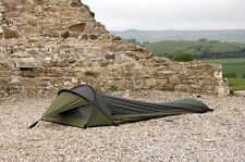 "SNUGPAK ""STRATOSPHERE"" 1 MAN TENT  BIVVI SHELTER IN GREEN - MILITARY, CAMPING"