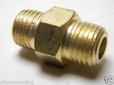 "Carpet Cleaning 1/4"" HEX Nipple MxM Brass"