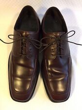 Mens shoes Cole Haan Leather Brown size 10 W Square toe Formal Dress shoes Used