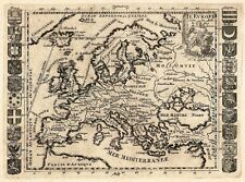 Antique map, L'Europe selon les Auth. les plus modernes