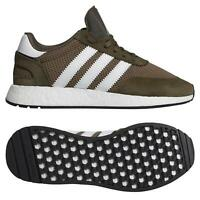 adidas ORIGINALS MEN'S I-5923 BOOST SHOES BROWN TRAINERS SNEAKERS RETRO SALE NEW