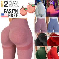 Women Push Up Leggings Yoga Pants Anti-Cellulite High Waist Slim Shapers Workout