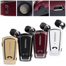 Retractable Clip-on Stereo Headset Bluetooth Headset Earphone Headphone Hot Sale