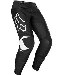 Fox Racing Youth 180 Prix Pants Black White Size 22