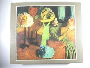 "Vintage Golden Masterpiece Series 1500 Piece Jigsaw Puzzle ""The Millinery Shop"""