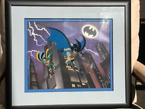 Batman The Animated Series * Limited Edition Cel * The Dynamic Duo * 054/500