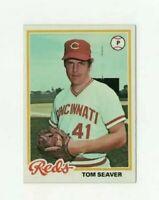 1978 Topps Tom Seaver #450 Baseball Card - Cincinnati Reds HOF