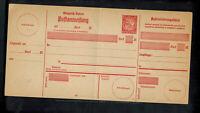 A-1375**GERMANY-BAYERN** 10pf stamped remittance card,Scarce!