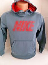 Authentic NIKE Boys Therma Fit Long Sleeve Hoodie Sweatshirt 546159 YOUTH MEDIUM