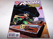 SIGNED MIKE WIERINGO ROBIN #43 DC 1ST PRINT BATMAN'S CRIME FIGHTING PARTNER