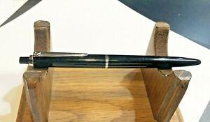 Vintage PELIKAN  Black BALLPOINT - excellent condition & mechanism - new refill