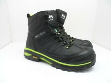 HELLY HANSEN Men's Composite Toe Composite Plate PU Welded Work Boot Black 10.5M