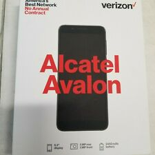 10 New Verizon Prepaid - Alcatel Avalon 16Gb 5MP 5.3in Android Smartphone