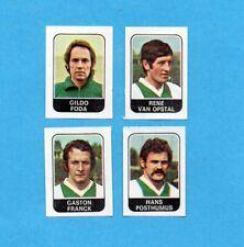 BELGIO-FOOTBALL 1973/74-PANINI-Figurina n.345-FODA+VAN OPSTAL+...-R.MECHELEN-Rec