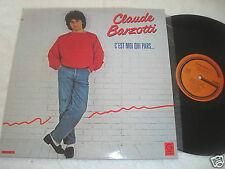 CLAUDE BARZOTTI C'est moi Qui Pars... LP NM/NM French Gamma Records Canada