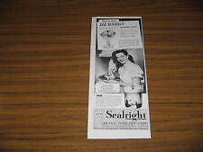 1949 Vintage Ad Sealright Sanitary Paper Containers Actress Jane Russell