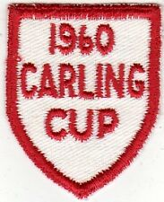 1960 Carling Cup Uniform Patch - Cleveland, OH