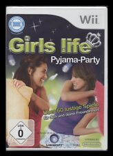 NINTENDO Wii - GIRLS LIFE - PYJAMA PARTY (Party-Spiel) *** NEU ***