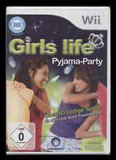 Nintendo Wii-girls life-PIGIAMA PARTY (Party-Gioco) *** NUOVO ***